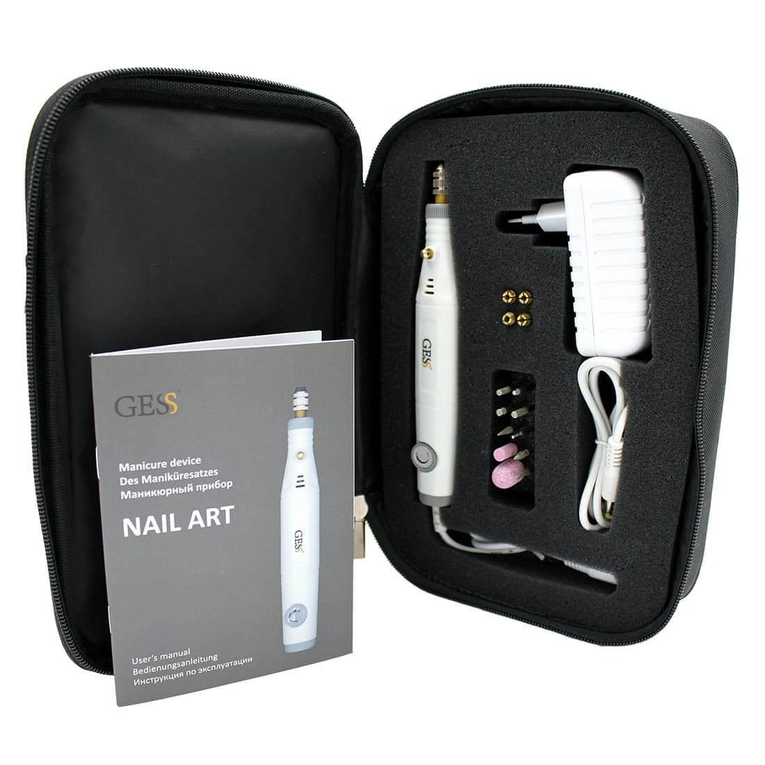 NAIL ART маникюрный прибор, GESS-631
