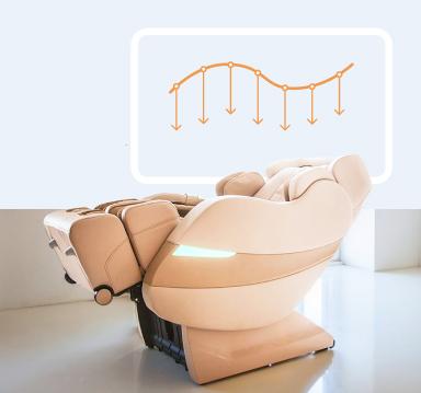 Rolfing массажное кресло (бежевое)