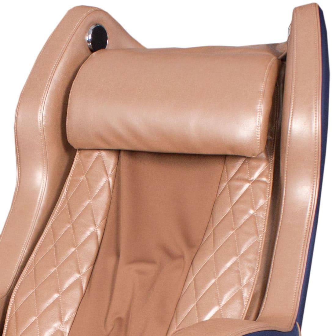 Bend массажное кресло (сине-коричневое)