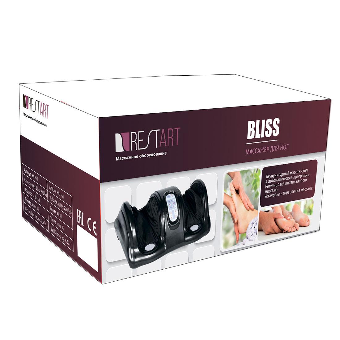 Bliss массажер для ног (красный)