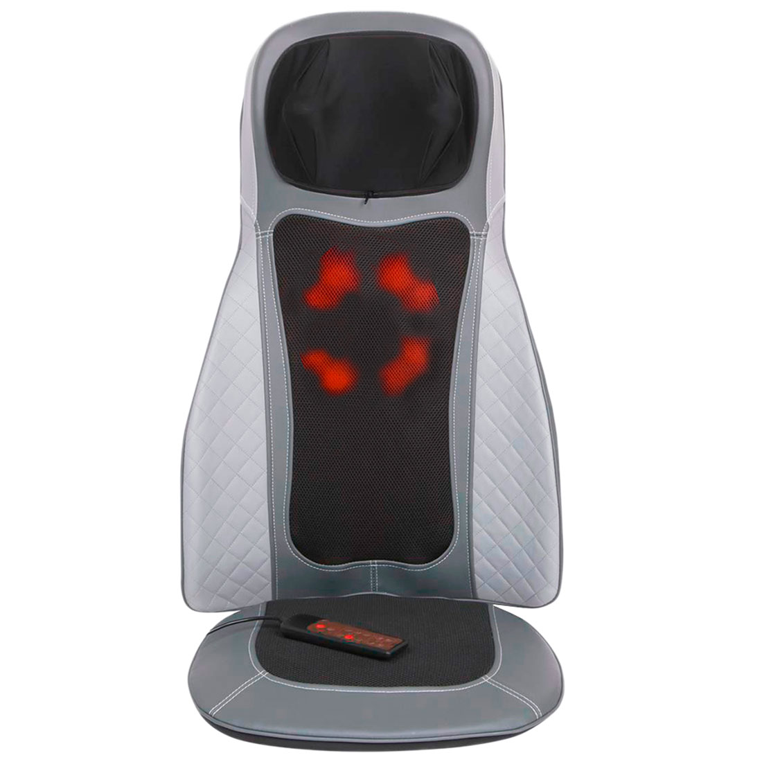 Массажная накидка Body Care PLUS, 8+4 ролика, массаж шеи, вибромассаж, пульт ДУ, 220/12В, GESS