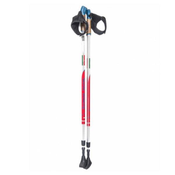 ERGOFORCE-red палки для Скандинавской ходьбы (телескопические)