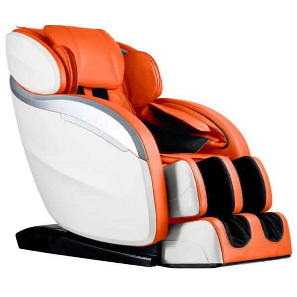 Массажное кресло Futuro, 11 массажных программ, колонки, bluetooth, L-образная каретка, GESS-830 orange