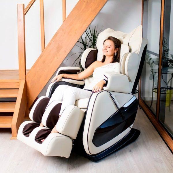 Gess Bonn массажное кресло (бежевое)