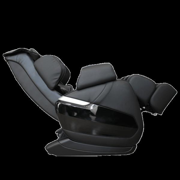 Массажное кресло GESS BONN (ДЖЕСС БОНН) чёрное, L-образкая каретка, нулевая гравитация, 7 автоматический программ, регулировка массажных роликов по ширине и интенсивности, GESS