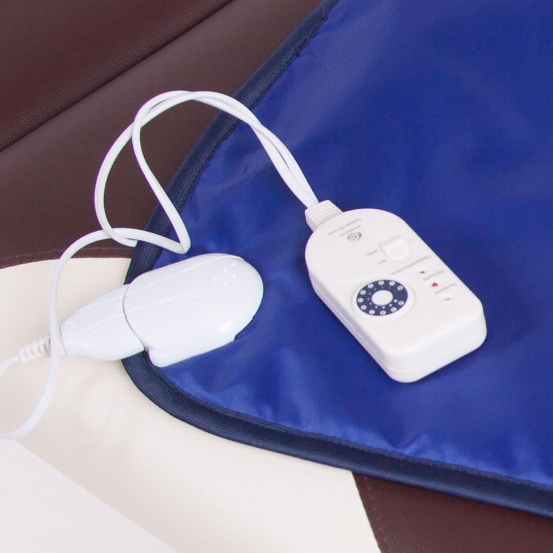 Электрическая грелка для косметологии Hot Mat 50 * 80 см EcoSapiens, 9 режимов, автоотключение, непромокаемый материал, электрогрелка для косметологии ES-302