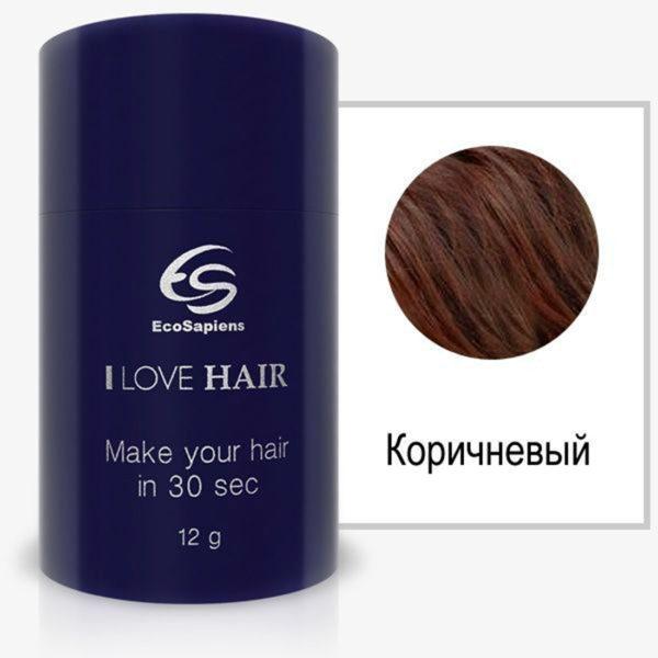 I Love Hair загуститель  волос (коричневый)