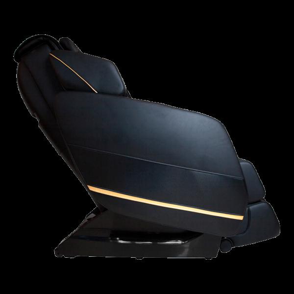 Массажное кресло Integro для дома и офиса, Zero-G, слайдер, черное, прогрев, сканирование тела, GESS