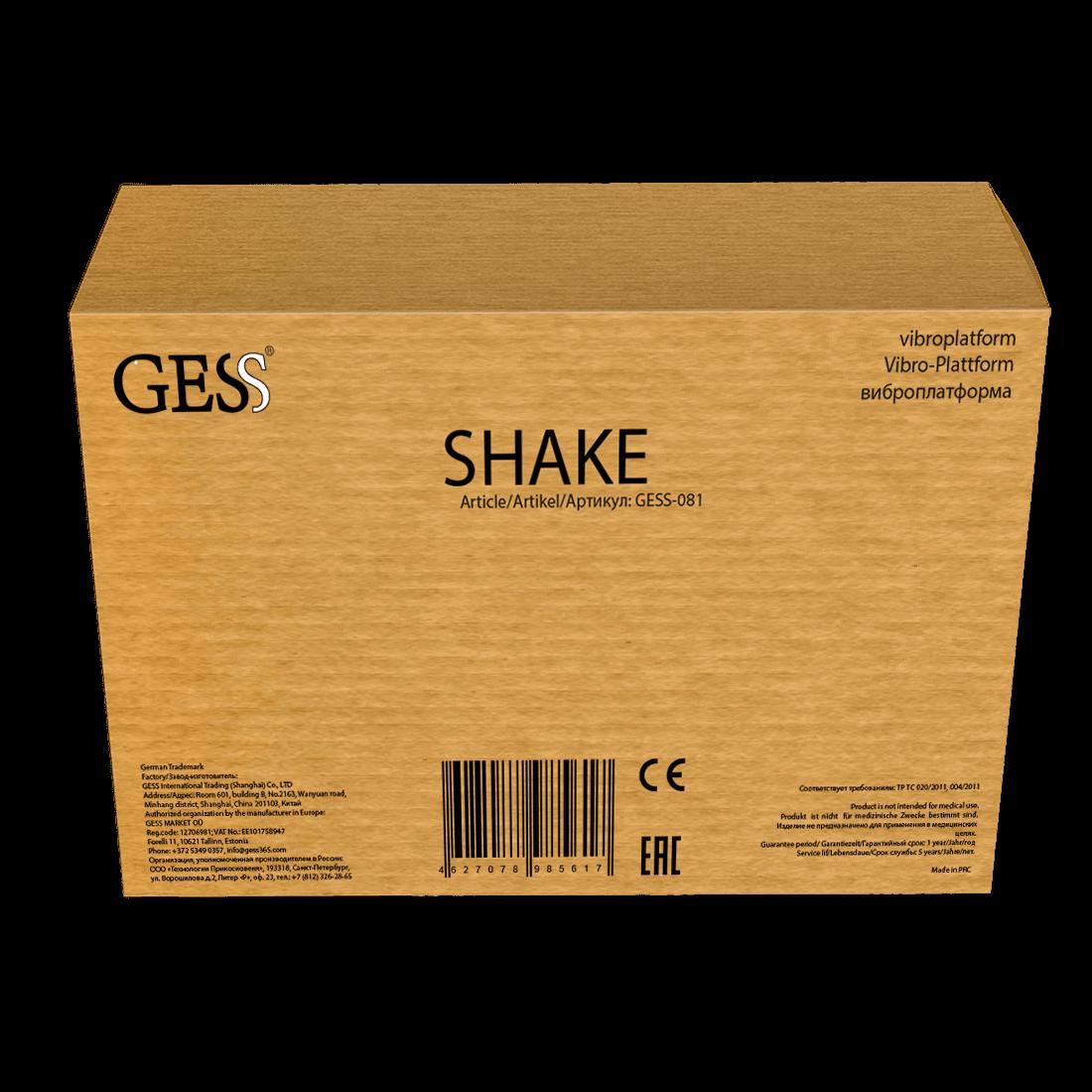 Shake виброплатформа (черная)