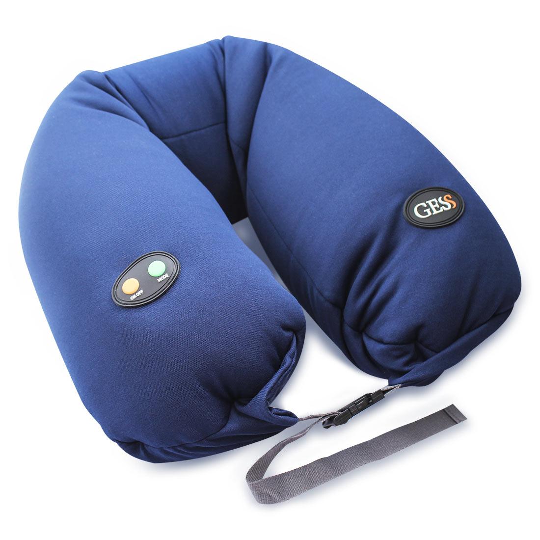 uNeck PRO blue массажная подушка