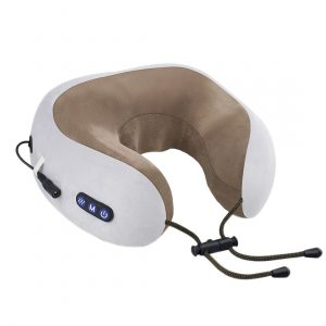 uTravel gray массажная подушка для путешествий
