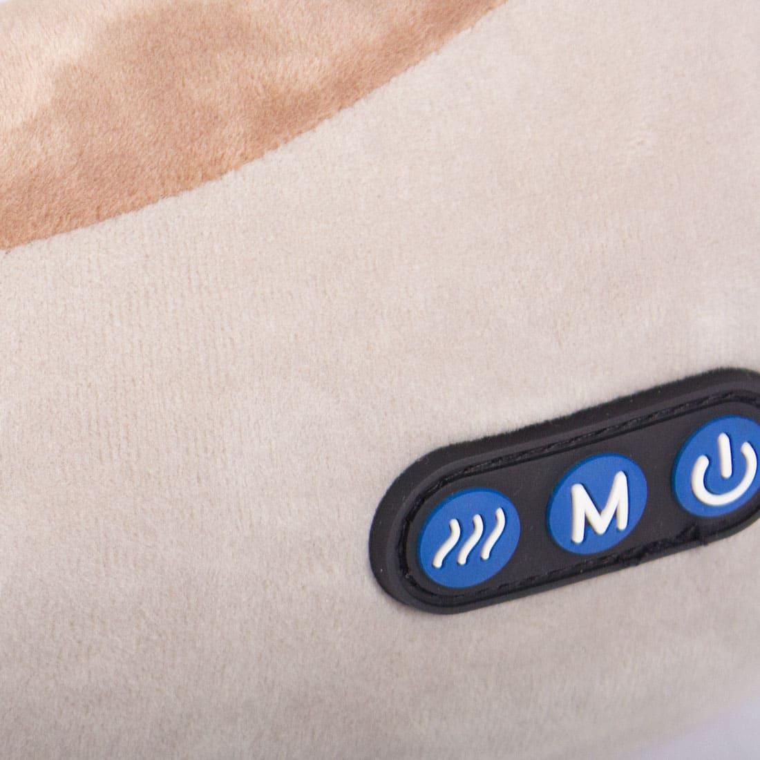 uTravel gray массажная подушка