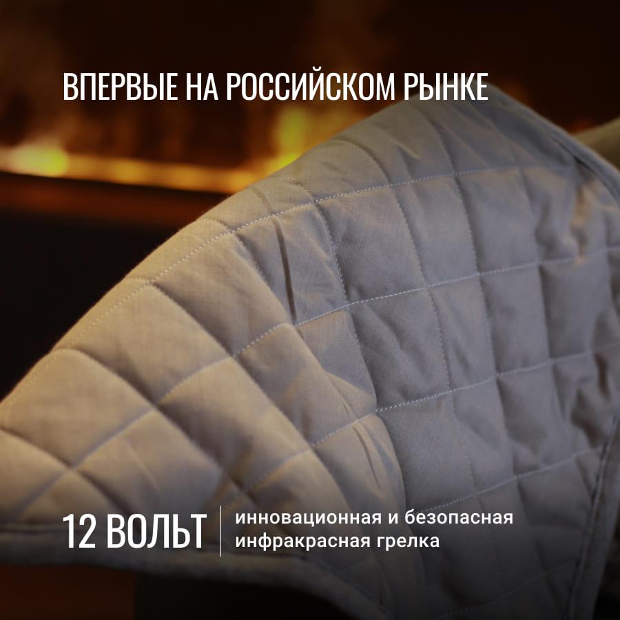 uWarm инфракрасная электрогрелка, 12В, размер 40*50