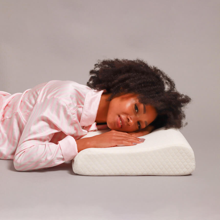 Gevea ортопедическая латексная подушка для сна (60x40x10/12 см)