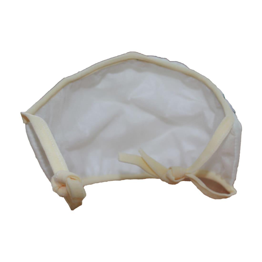 Маска защитная EcoSapiens трёхслойная многоразовая, 15 шт. в наборе, белая