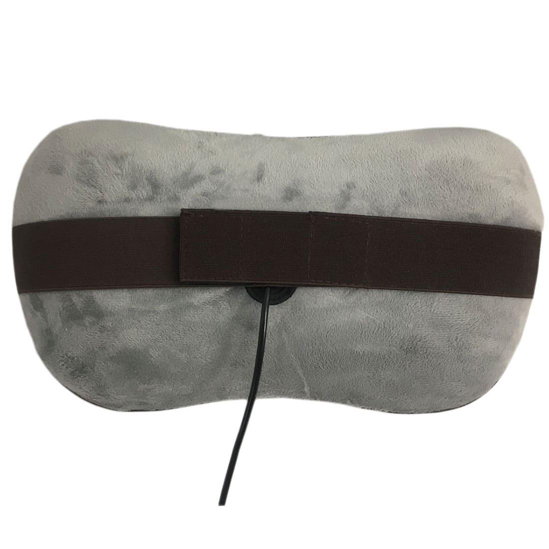 uShiatsu Grey массажная подушка для шеи