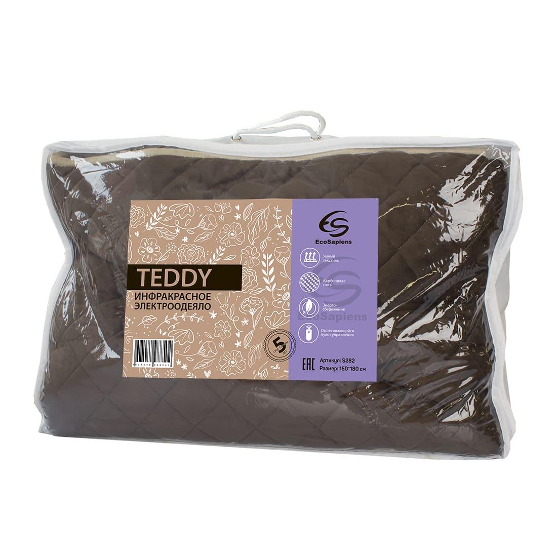 Teddy плюшевое электроодеяло (150 * 180 см)